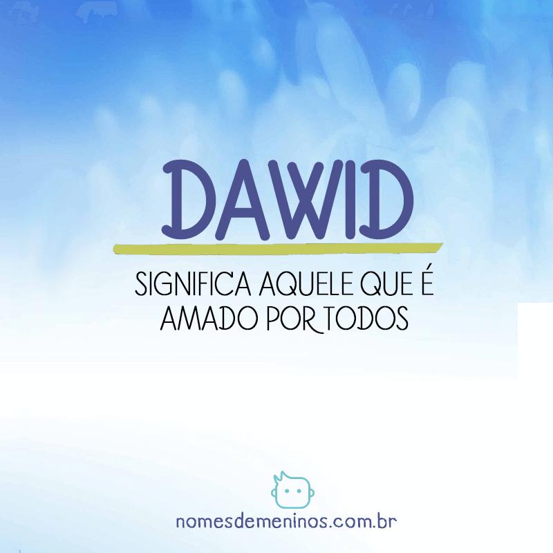 Significado de Dawid