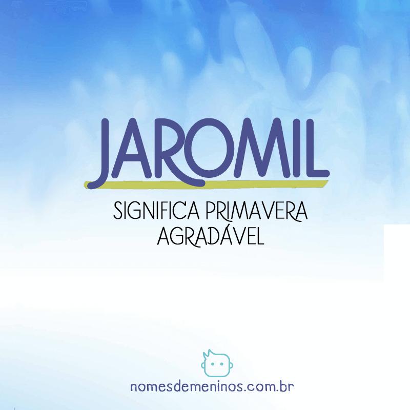 Significado de Jaromil
