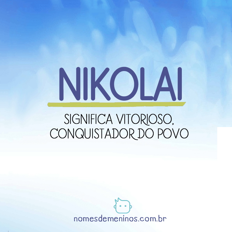 Significado de Nikolai
