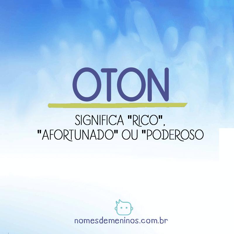 Significado de Oton